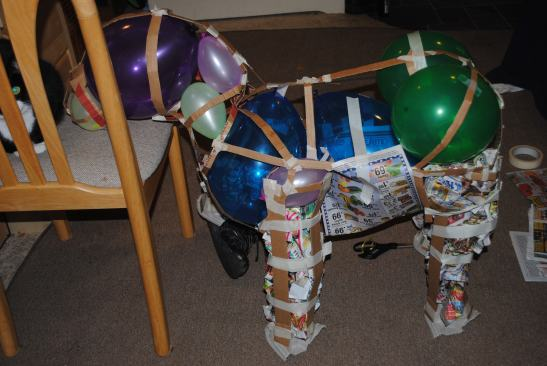 Balloon transplant.
