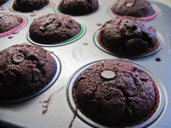 Don't forget to use silicone cups, because  no one likes to wash a muffin pan.