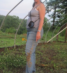 My curves from this summer.  There is mud on my pants because I fell down.  I am something of a clutz.