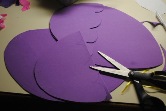 Four pieces of 38 cent craft foam.