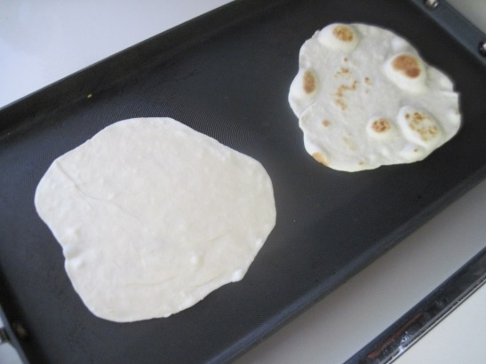 Your first two tortillas are always crap.   They still taste good though.