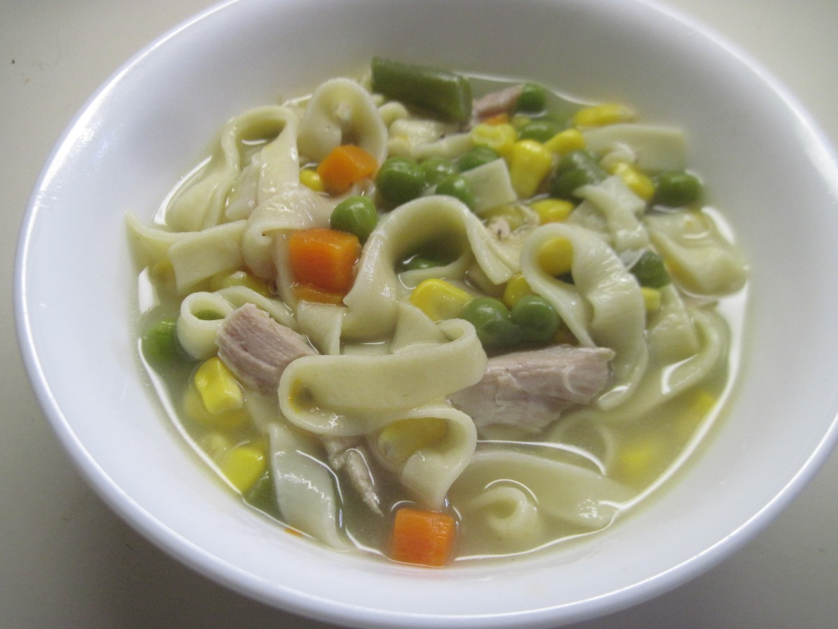 Diary of an inconsistent cook 32 chicken and vegetable for What vegetables to put in chicken noodle soup