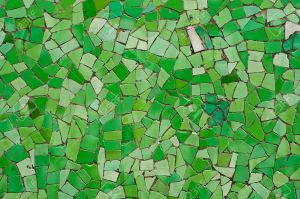 random-broken-green-wall-mosaic-Stock-Photo-tile