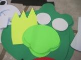 9 - Pig Minions - Green + 1 King Pig
