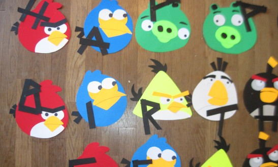 Mad Craft 8 An Angry Bird Fourth Birthday Party Diy Hats Banner